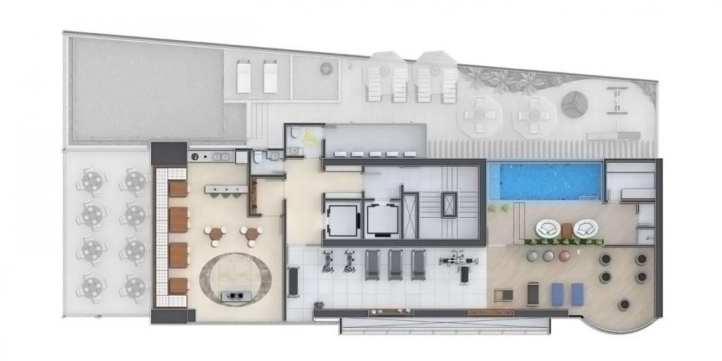 apartamento balneraio luxo